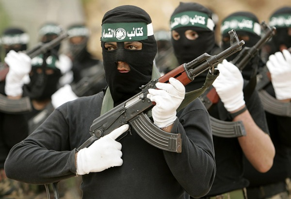 Hamas fighters.