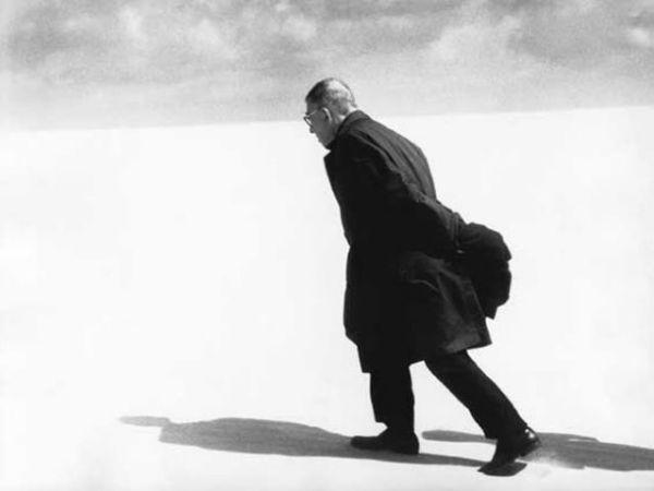 Jean-Paul Sartre, photography by Antanas Sutkus